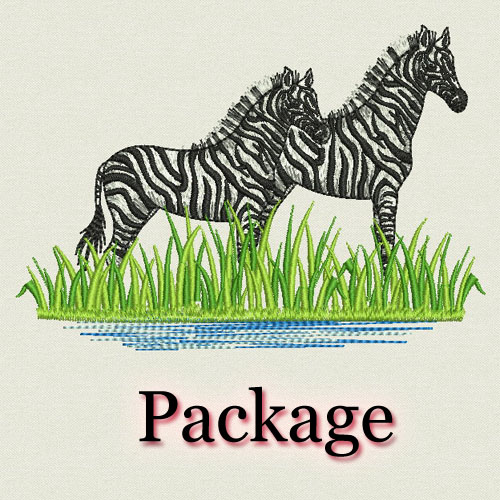 Embroidery designs africa animals