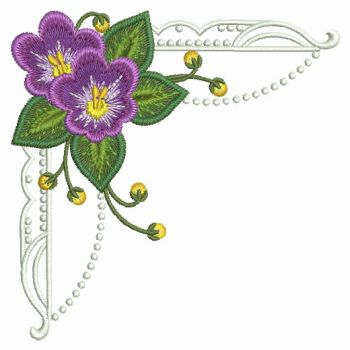 embroidery designs african violetmd