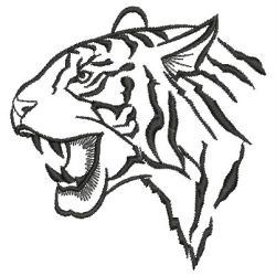 wild animal outlines 13sm machine embroidery designs - Animal Outlines
