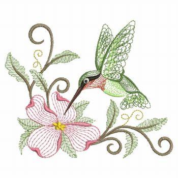 Machine Embroidery Design Sm Bird