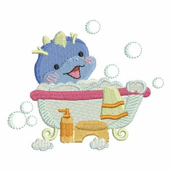 Embroidery designs bath time cuties 2 for Bathroom embroidery designs