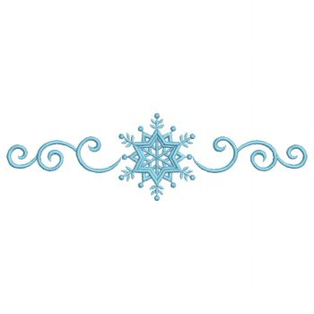 snowflake border colouring pages
